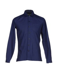 Oliver Spencer Shirts Shirts Men Blue