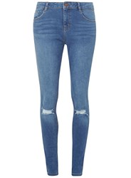 Dorothy Perkins Tall Mid Vintage Darcy Jeans Blue