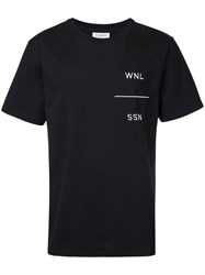 Public School Embroidered T Shirt Men Cotton Xl Black