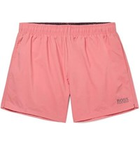 Hugo Boss Mid Length Swim Shorts Pink