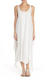 Women's Michael Michael Kors Racerback Cotton Maxi Dress White