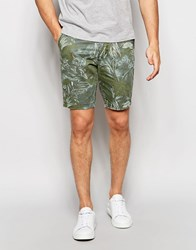Minimum Floral Shorts Green