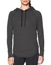 Under Armour Relaxed Fit Raglan Sleeve Hoodie Grey