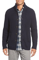 Men's Bonobos Mock Neck Button Front Cardigan