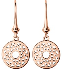 Links Of London Timeless 18Ct Rose Gold Earrings