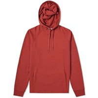 Folk Rivet Popover Hoody Red