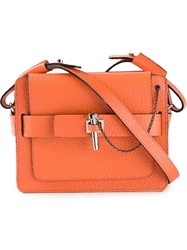 Carven Small 'Malher' Crossbody Bag Yellow And Orange