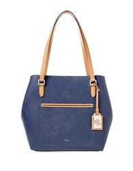 Lauren Ralph Lauren Lindley Alissa Shoulder Bag Marine Blue