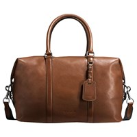 Coach Explorer Dark Sport Calf Saddle Bag Brown