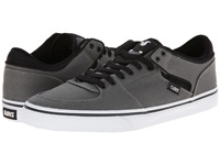Dvs Shoe Company Torey Low Pewter Canvas Men's Skate Shoes