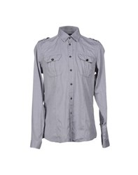 Messagerie Shirts Shirts Men Grey