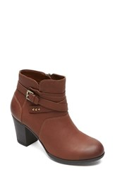 Women's Rockport 'City Casuals Catriona' Bootie Nutella Leather