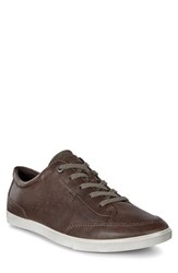 Ecco Men's 'Collin Classic' Sneaker Dark Clay Leather