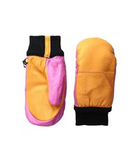 Hestra Omni Mitt Orange Pink Ski Gloves