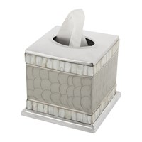 Julia Knight Classic Tissue Box Platinum