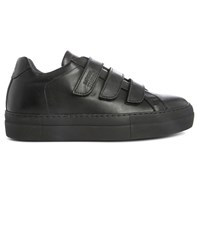 National Standard Black Mono Edition 44 Leather Sneakers