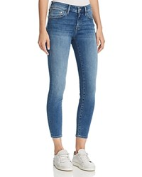 Mavi Jeans Adriana Ankle Mid Rise Super Skinny In Mid Supersoft