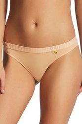 Elle Macpherson 'The Body' Thong Beige