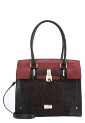 Lydc London Handbag Black Wine