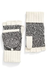Rag And Bone Women's 'Francesca' Convertible Cashmere Mittens Ivory