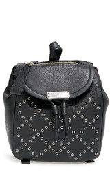 Marc By Marc Jacobs 'Mini Luna' Grommet Studded Leather Backpack Black