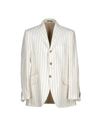 Hackett Suits And Jackets Blazers Men Ivory