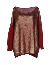 Imperial Star Imperial Sweaters Brick Red