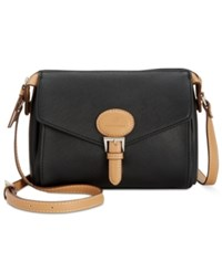 Giani Bernini Saffiano Square Crossbody Only At Macy's Black