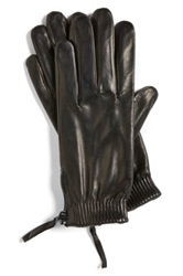 Vince Camuto Lambskin Gloves Black