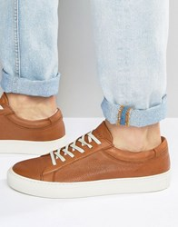 Jack And Jones Galaxy Embossed Trainers Tan