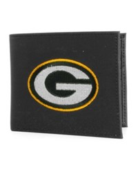 Rico Industries Green Bay Packers Black Bifold Wallet