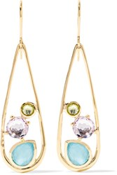 Ippolita Rock Candy 18 Karat Gold Multi Stone Earrings One Size