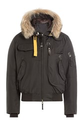 Parajumpers Down Jacket With Fur Trimmed Hood Gr. S