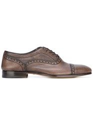 Fabi Classic Brogues Calf Leather Leather Brown