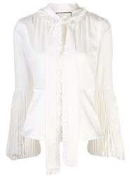 Alexis Sorrenta Pussy Bow Blouse 60