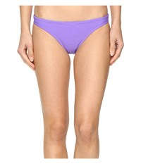 Speedo Solid Hipster Bottom Wisteria Women's Swimwear Purple