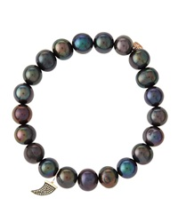 Sydney Evan Design Your Own Bracelet Made To Order Peacock Pearl