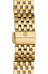 Women's Michele 'Deco Ii' 16Mm Bracelet Watchband Nordstrom Exclusive