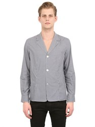 Golden Goose Check Cotton Shirt Jacket