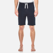 Hugo Boss Men's Logo Sweat Shorts Navy