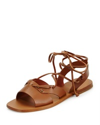 Leather Wide Strap Gladiator Sandal Cuir Tomas Maier