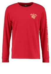 Deus Ex Machina Island Sweatshirt Rich Red