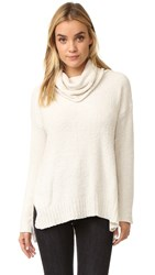 Bb Dakota Warner Oversized Turtleneck Sweater Oatmeal