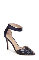 Charles By Charles David Women's Pointer Pump Navy Floral