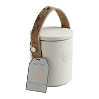 Mer Sea Luxe Cow Hide Handle Scented Candle Mystique