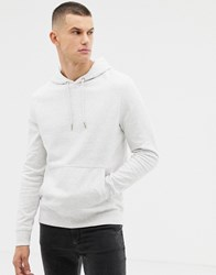 New Look Hoodie With Pocket In Light Grey Light Grey