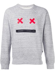 Marc Jacobs Face Sweatshirt Grey