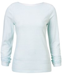 Craghoppers Nosilife Erin Long Sleeve T Shirt From Eastern Mountain Sports Sea Spray Stripe