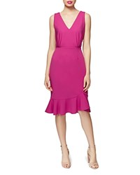 Betsey Johnson Scuba Crepe Dress Pink
