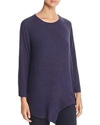 Nally And Millie Asymmetric Tunic Ink